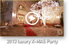 2013 luxury X-MAS Party