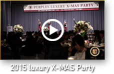 2015 luxury X-MAS Party